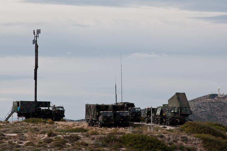 Patriot-luchtafweersysteem (foto: Defensie.nl) (foto: Defensie.nl)