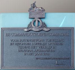 Bronzen Schild van het KCT (foto: Boekje-Pienter.nl)