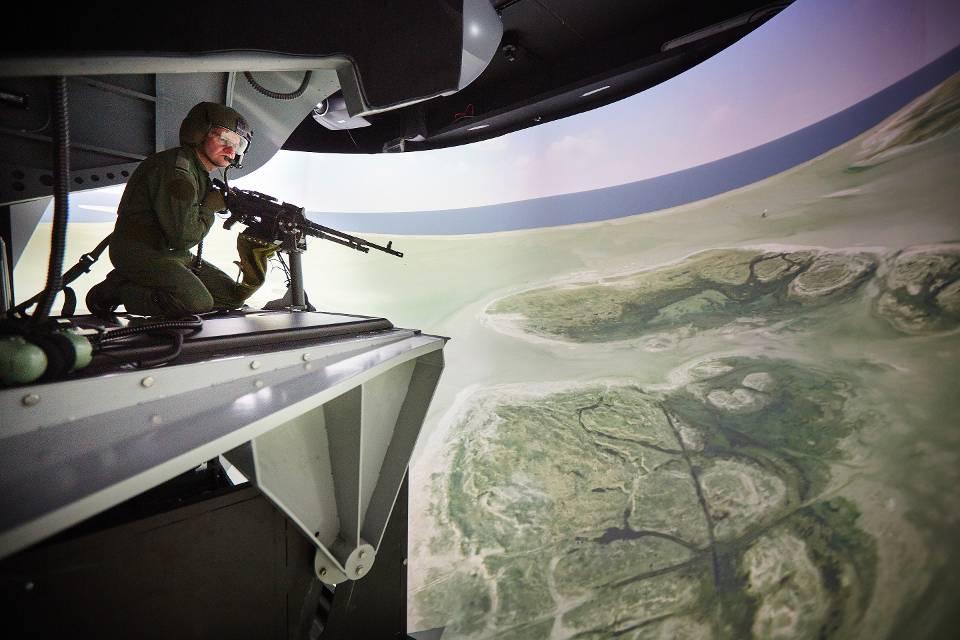 De simulator (foto: ministerie van Defensie)
