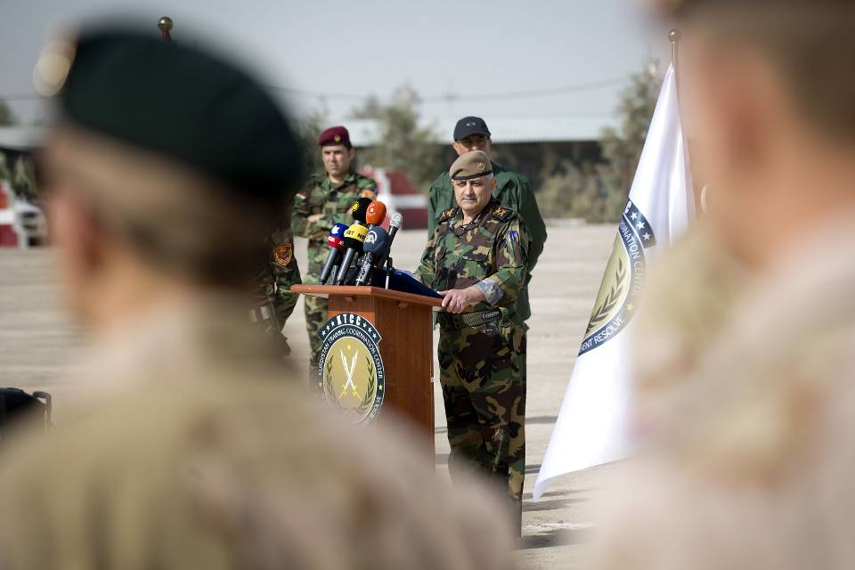 Openingsceremonie (Foto: ministerie van Defensie)