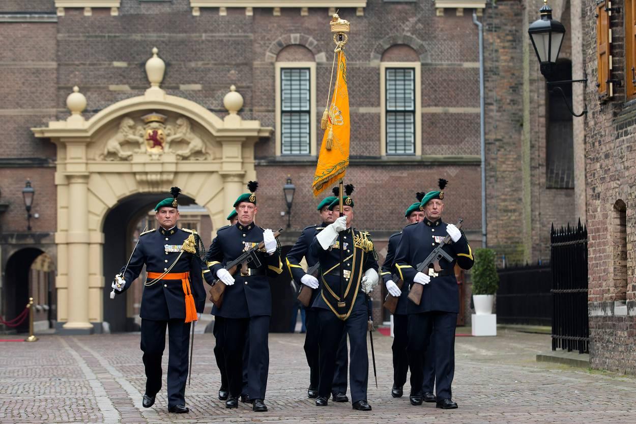 Koning Willem-Alexander: alle groene baretten kunnen trots zijn
