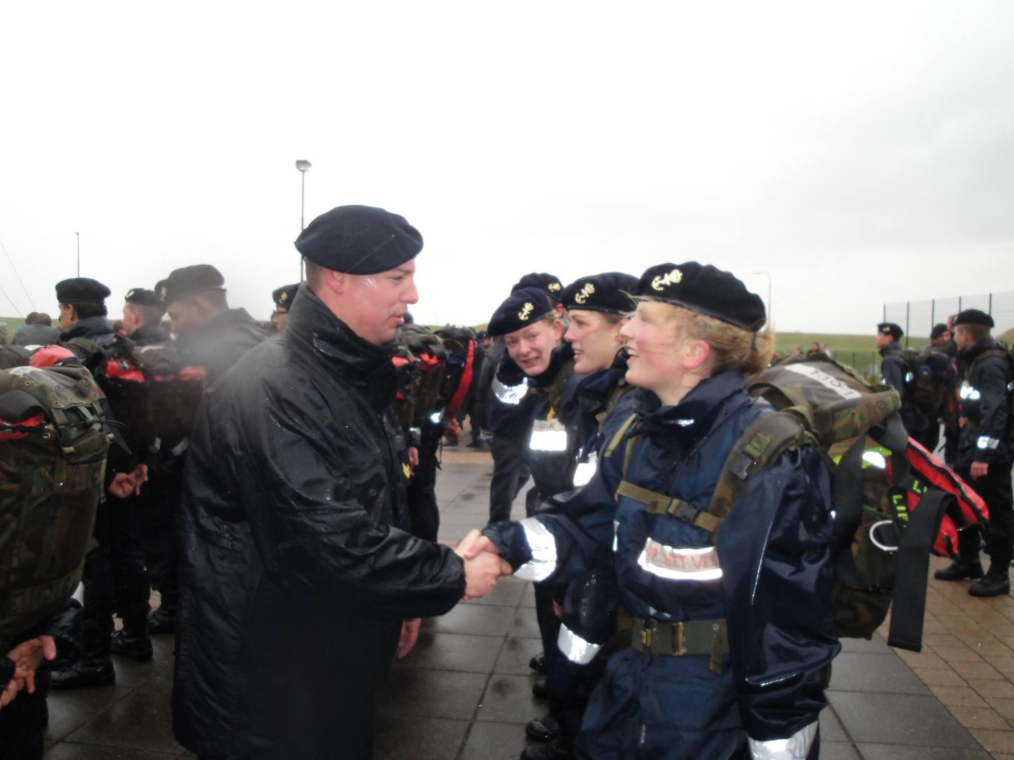 'Ik wil gewoon erkenning van de Marine'