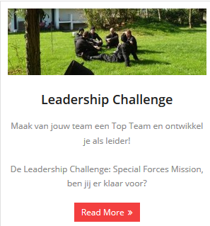 Meer informatie over de Leadership Challenge