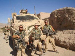 Boon (m) op missie in Afghanistan