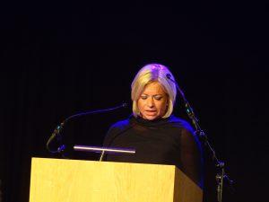 Minister van Defensie, Jeanine Hennis-Plasschaert door Coen van den Braber