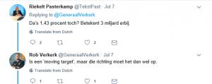 De bewuste tweet van Verkerk