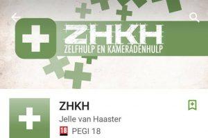 Van Haaster bouwde ZHKH-app