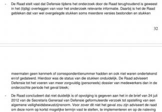 Screenshot uit Rapport Onderzoeksraad