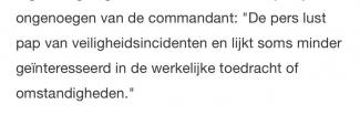 Screenshot uit bericht van luitenant-generaal Luyt