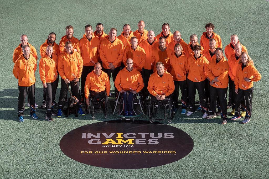 Nederlandse Invictus Team vertrokken naar Sydney