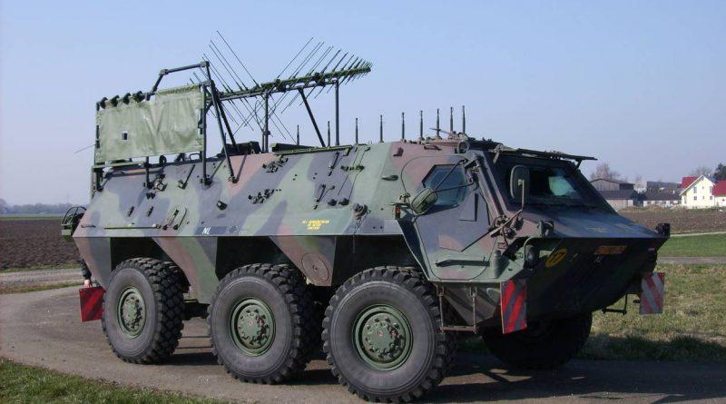 Fuchs EOV Pantservoertuig