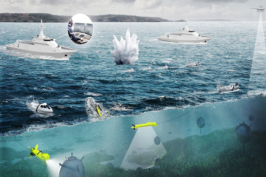 Nieuwe mijnenbestrijdingsvaartuigen voor Defensie