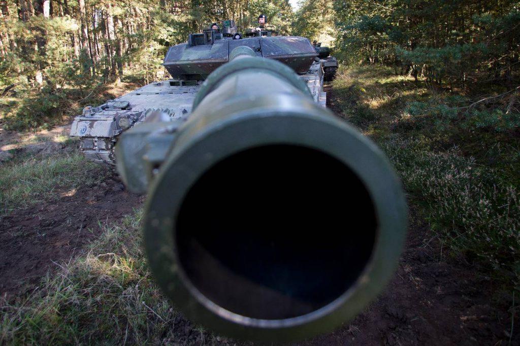 Leopard 2 A6 (foto: ministerie van Defensie)