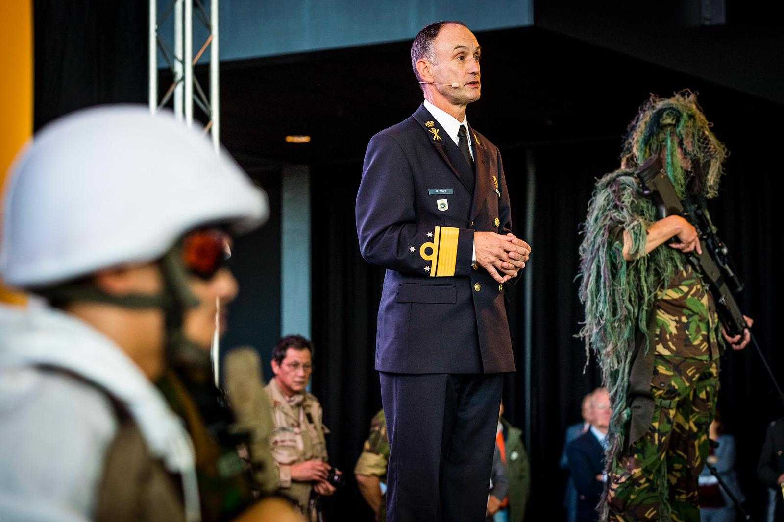 Admiraal de Waard: we moeten het anders doen dan we altijd hebben gedaan