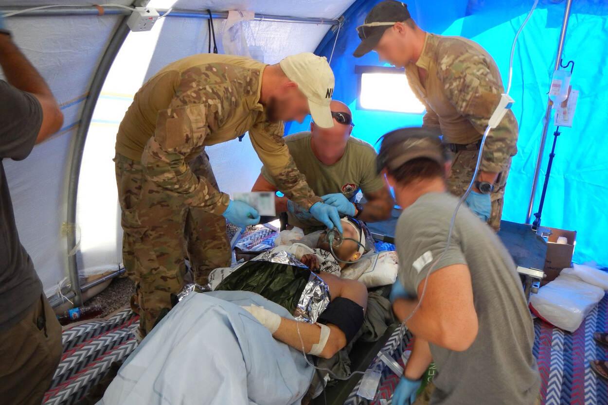 Ereteken voor Verdienste voor redden Irakezen