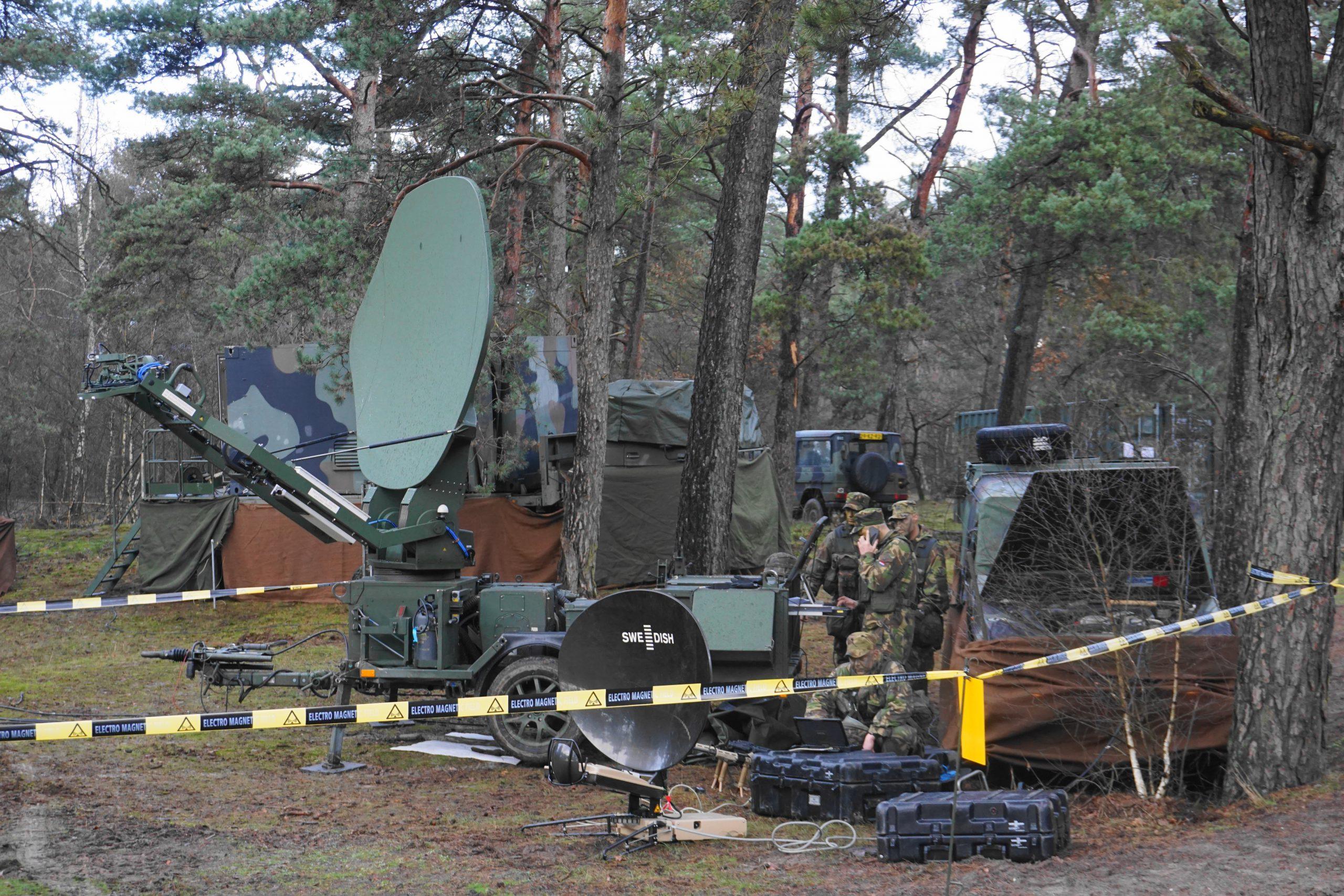 Oefening Signal Challenge: een compleet glasvezelnetwerk in het bos