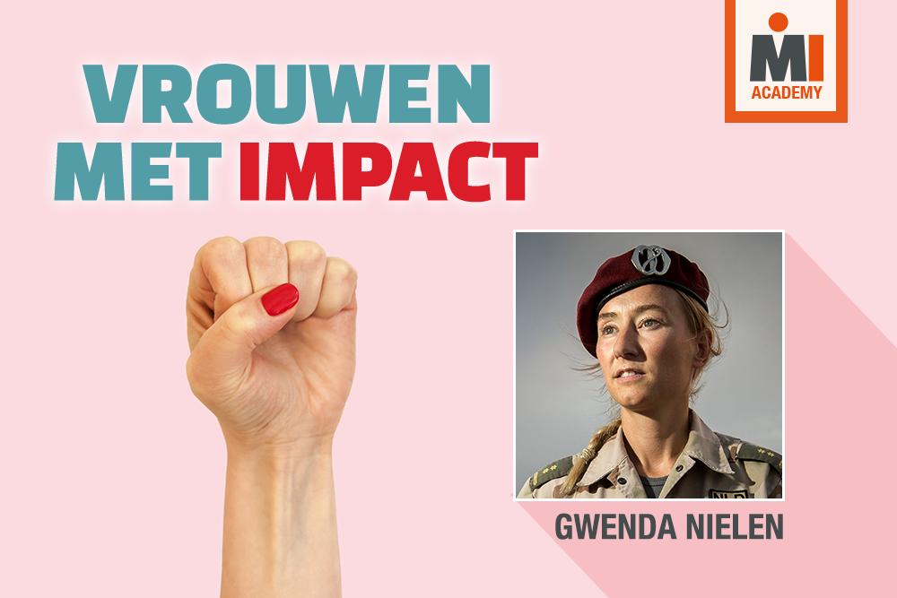 Gwenda Nielen: 'Ik wil niet one of the guys zijn'
