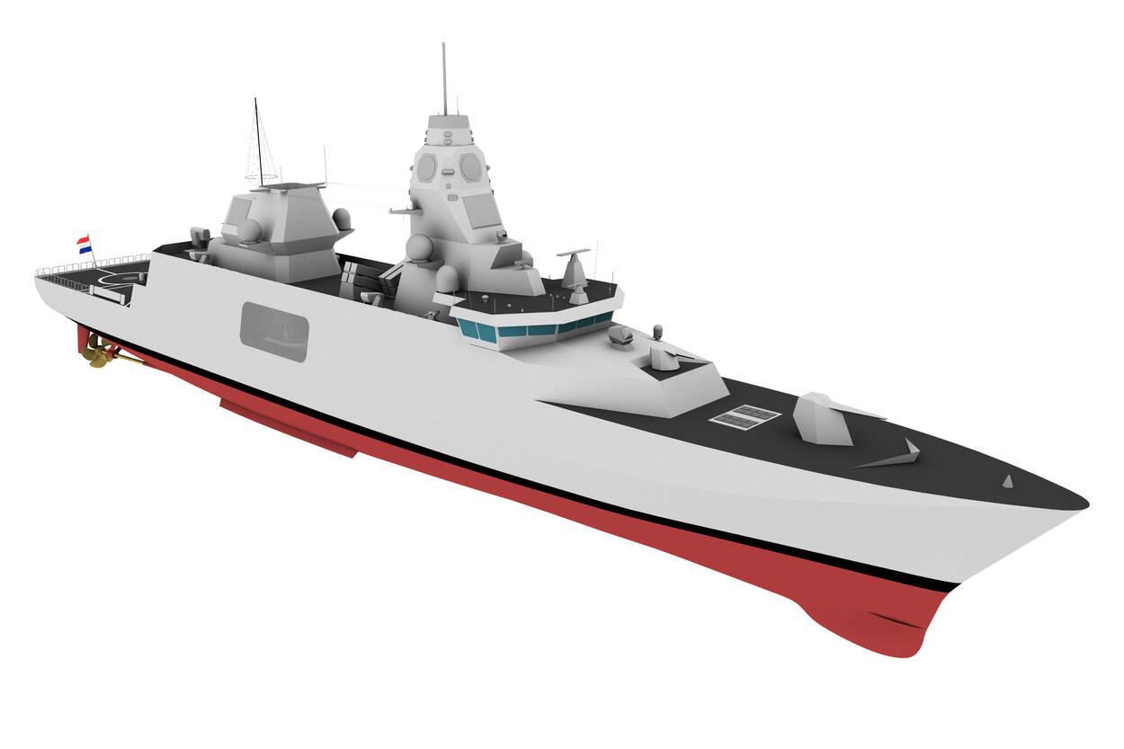 Opvolger M-fregat krijgt nieuwe torpedo's en raketten